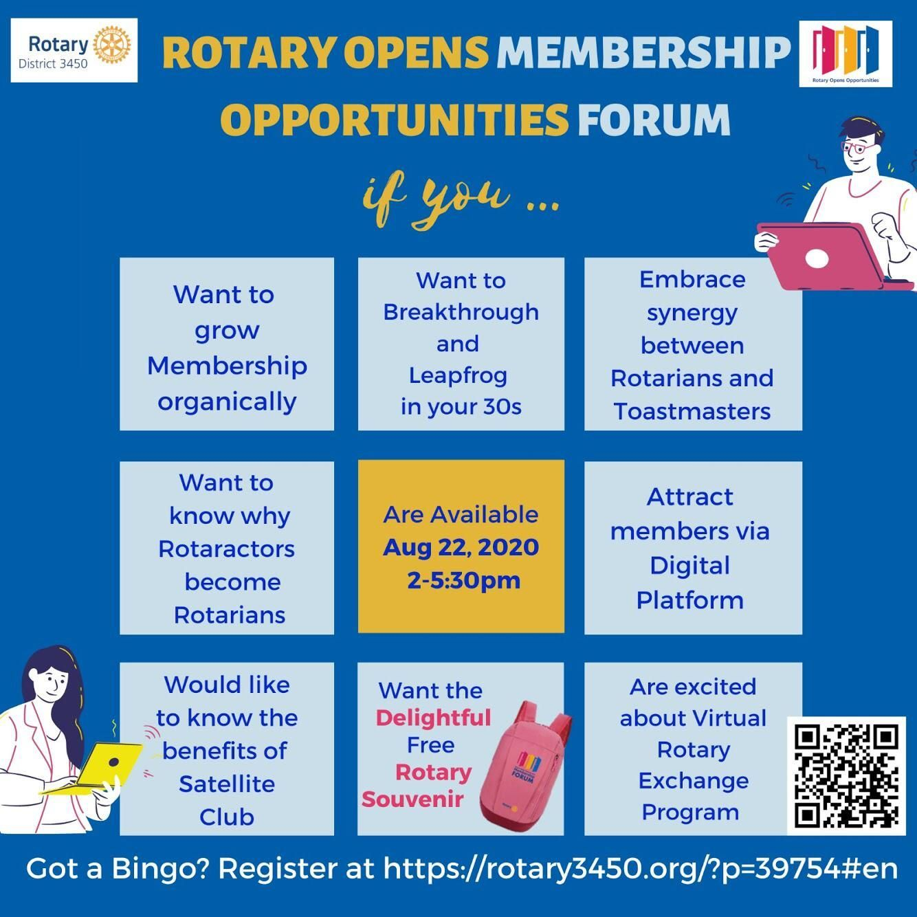 Rotary Opens Membership Opportunities Forum