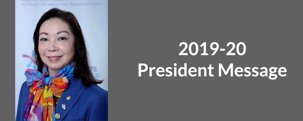2019-20 President Message